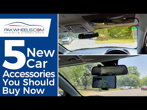 5 New Car Accessories You Should Buy Now