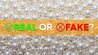 How to tell if a pearl is  real or fake?