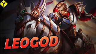 SMURF DO ROUSHI AQUI OT4RIOS - LEOMORD MID | Mobile Legends