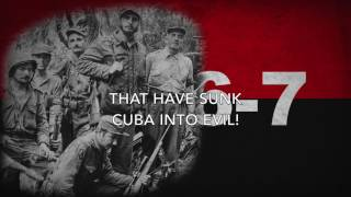 Marcha del 26 de Julio - March of the Cuban Revolutionaries (English Lyrics)