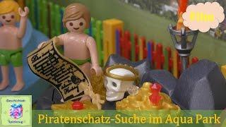 Playmobil Film Deutsch KINDERGEBURTSTAG IM AQUAPARK MIT SCHATZSUCHE Teil1 ♡ Playmobil Geschichten