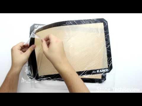 Unboxing Love-KANKEI Silikon Backmatte Dauerbackfolie Backunterlage Antihaftbeschichtet