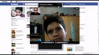 Teste Chamada de vídeo no facebook