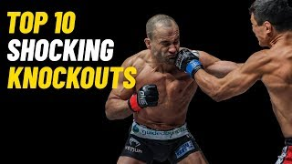 Top 10 Shocking Knockouts | ONE Championship