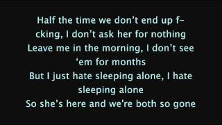 Drake - Hate Sleeping Alone (Lyrics On Screen) [NEW]