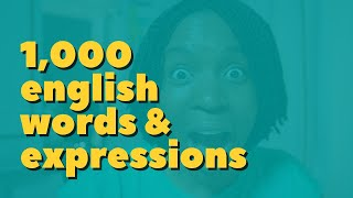 1000 English Words & Expressions | The Simple Formula To Learn And Use Them
