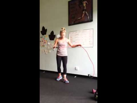 Single Arm Tricep Extension with Band