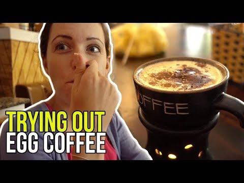 Cà Phê và Trứng Sống ?! Coffee with Raw Egg ?! / Hà Nội Vlog 2018