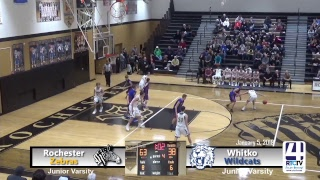 Rochester JV Basketball vs Whitko
