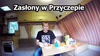 Kasia Założyła Zasłony w Przyczepie Kempingowej (Vlog #85)