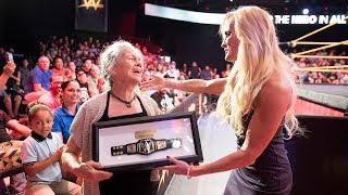 WWE celebrates everyday Hero Ruby Jibaja