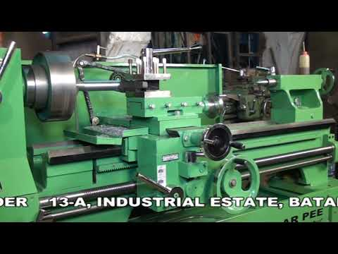 All Geared Lathe Machine (Educational)