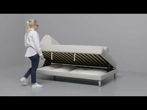 IKEA - FLOTTEBO 120: Anleitung vom Sofa zum Bett