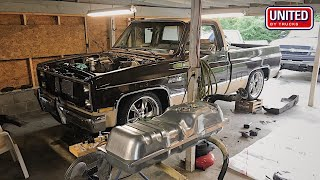 LS Swapping A Squarebody C10 | THE STRUGGLE IS REAL | Part 2