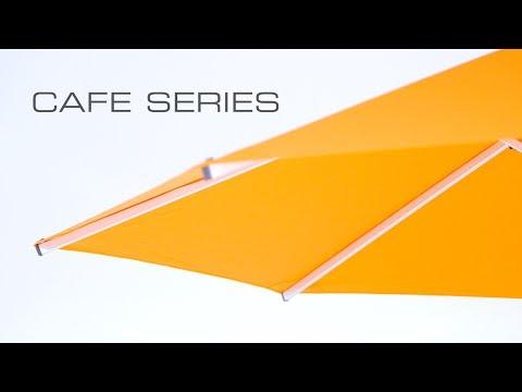 Video Cafe Series Umbrellas by Instant Shade Umbrellas
