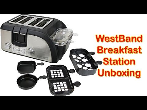 Westbend Stainless Steel Breakfast Station Unboxing