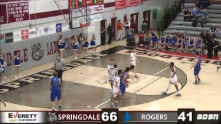 SHS Basketball   vs Rogers