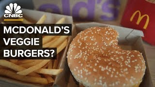 Why McDonald's Doesn't Have A Vegan Meat Burger In The US