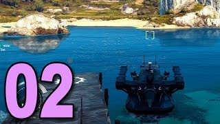 Just Cause 3 Sea Heist DLC - Part 2 - World's Craziest Boat