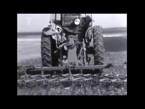 Zemědělství 1960   Československý Filmový týdeník Zetor 25 k  zetor 50