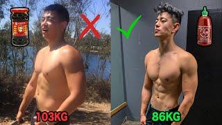 【3个月减35斤?】10个你必须知道的减脂技巧(新手必看)