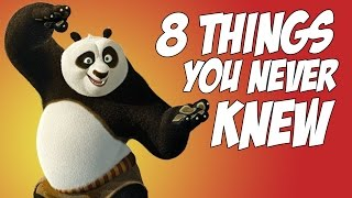 8 Things You NEVER Knew About Kung Fu Panda!