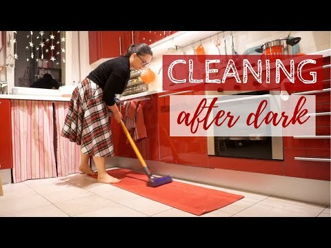 MOTIVATIONAL MONDAY | Pulizie della sera 🌙✨ CLEANING AFTER DARK