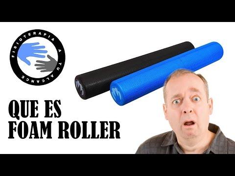 Foam roller, que es y para que sirve el rodillo de espuma