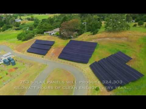 SolarCraftSonoma Academy Solar Power Installation