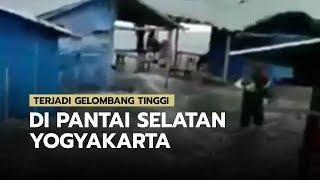 Terjadi Gelombang Tinggi di Pantai Selatan Yogyakarta, Masyarakat agar Berhati-hati