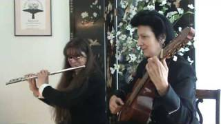 Grisanti & Welch-Liggan perform 'Wedding March~ Traditional Bride  & Groom EXIT Recessional'