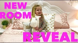 THE GIRLS BIG ROOM REVEAL NEW BIG GIRL ROOMS!