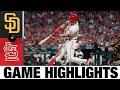Padres vs. Cardinals Game Highlights (9/18/21)   MLB Highlights