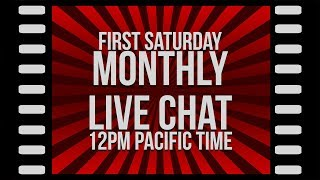 Monthly Live Stream (October 2018)