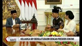 Silaturahmi Dengan Presiden Jokowi, AHY Ucapkan Terima Kasih