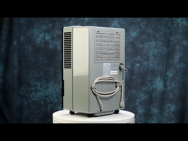 Pure & Dry Whisper 70-Pint Dehumidifier With Built-In Pump