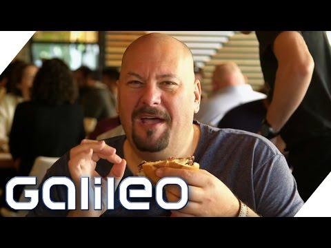 Jumbo Schreiner: Diese Fastfood-Neuheiten gibt es in den USA | Galileo | ProSieben
