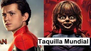 Spider-Man: Far From Home ya es un éxito en China, Annabelle 3 podría fracasar en USA.