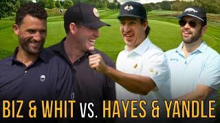 Keith Yandle + Kevin Hayes VS Paul Bissonnette + Ryan Whitney: The Sandbagger Invitational V