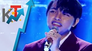 JM Yosures sings Sandalan for TNT 4 Huling Tapatan Day 3