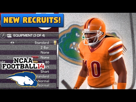 Subscriber Submitted Recruits (Season 2) | NCAA Football 14 TeamBuilder Dynasty Ep. 19