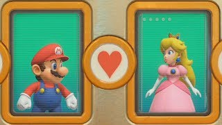 Super Mario Party - Looking For Love and Other Minigames| Cartoons Mee