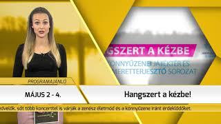 Programajánló / TV Szentendre / 2019.05.02.