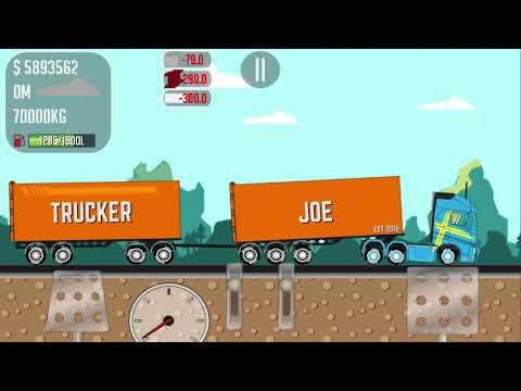 Trucker Joe transporting bricks to the construction of the export port