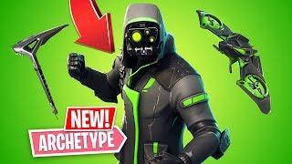 NEW EPIC ARCHETYPE SKIN!! *Pro Fortnite Player* // 1,300 Wins (Fortnite Battle Royale)