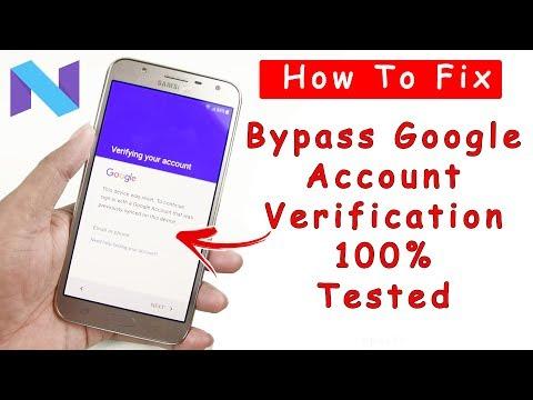 Bypass Google Account Verification Samsung J7 2016 /J5 2016/ J7 NXT / J7 PRO / J7 Prime  Android 7.1