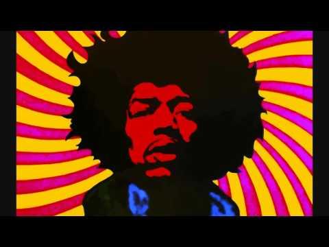 Jimi Hendrix - Foxy Lady (G3 Style Backing Track) With Lyrics ᴴᴰ