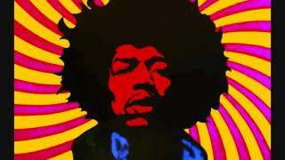 Jimi Hendrix - Foxy Lady (G3 Style Backing Track) With Lyrics ᴴᴰ