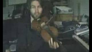 Violin toss
