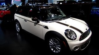 2013 Mini Cooper Clubman Hyde Park Edition - Exterior, Interior Walkaround - 2013 Montreal Auto Show
